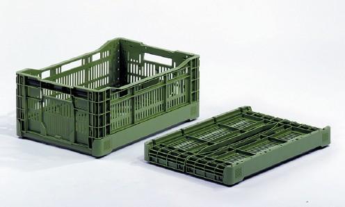 Freshplaza noticias del sector de frutas y verduras for Cajas de plastico plegables