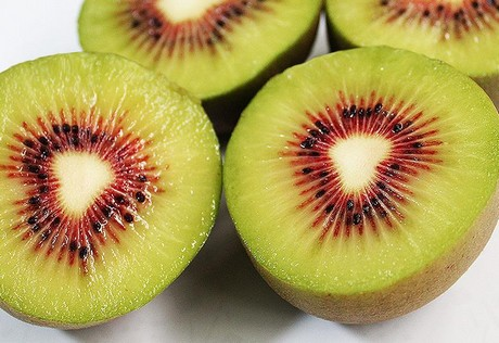 China: Red-heart Kiwi, unknown in the rest of the world