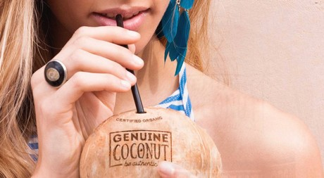 The raw coconut water that has reached 25 countries in 2 years