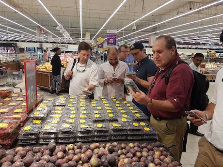 The Chilean Blueberry Committee's mission arrives in Dubai